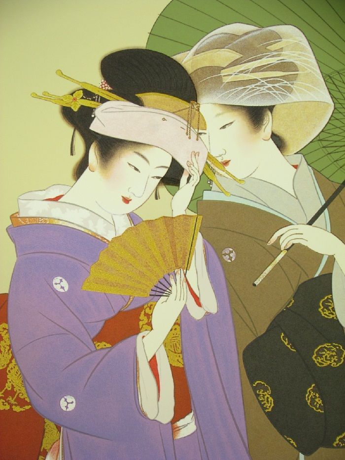 上村松園「秋の粧」