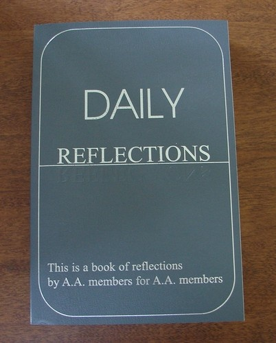 Daily Reflections Alcoholics Anonymous Meditations LARGE PRINT | eBay #xa #12steps #sober