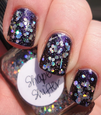 This is 2 coats over Orly Out Of This World with Lynderella Shape Shifter over: Nails Art, Lynnderella Nails, Lynderella Shape, Shape Shifter, Toenails Emergency, Nails Polish, Slight Obsession