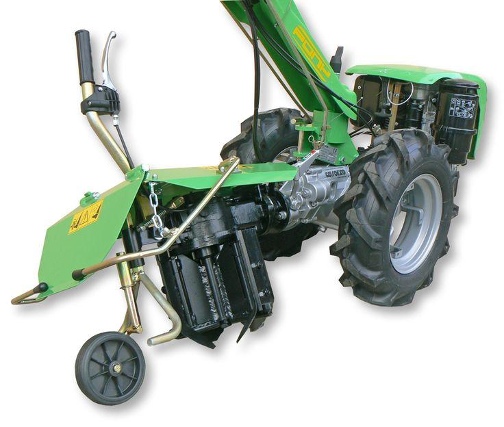 #casorzo Pony12-R with #aratrorotativo #rotaryplow reversible side L/R #plow #plough http://www.casorzo.net