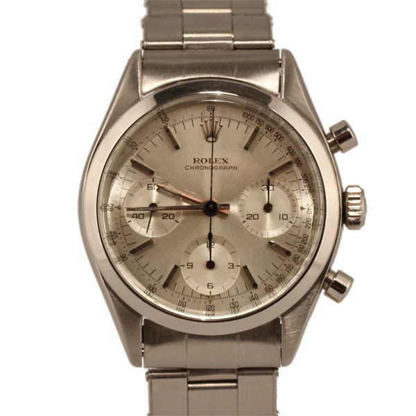 Vintage Rolex Pre-Daytona Chronograph Stainless Steel timepiece...: Color
