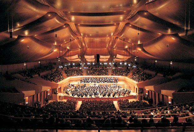 Auditório Parco della Musica, 1994-2004, em Roma, Itália