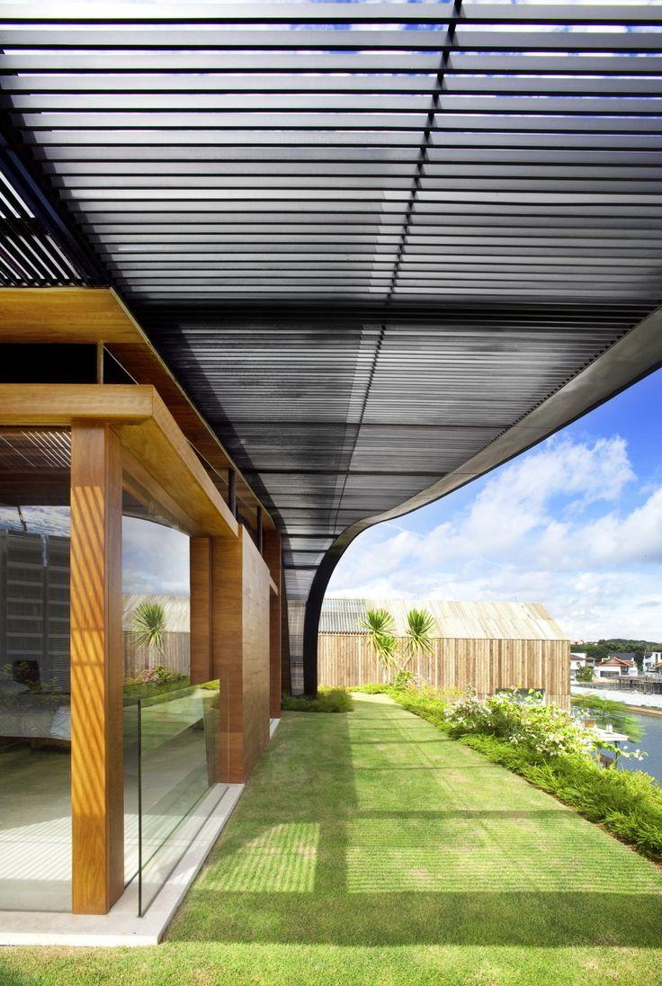 Best Meera House By Guz Architects Metal Slat Horizontal 400 x 300