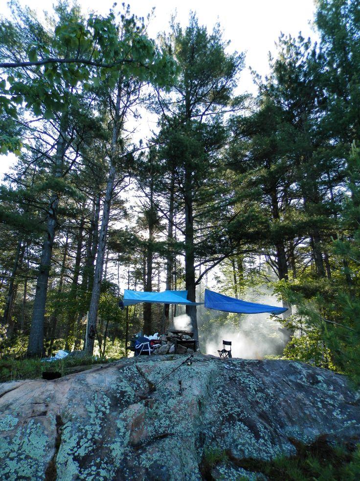 Site 524 Bon Echo backcountry camping