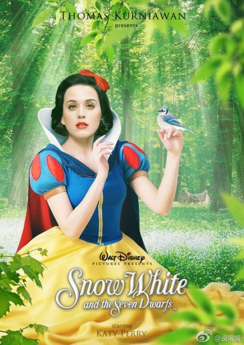 Katy Perry es Blanca Nieves