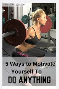 5 Ways to Motivate Yourself to Do ANYTHING. I share some very simple tips I've picked up over the years to motivate myself.