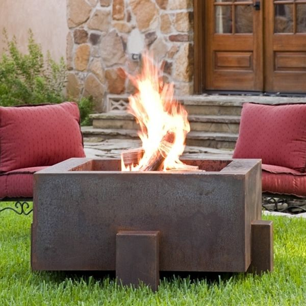 """Vesta Fia 38"""" Wood Burning Fire Pit 