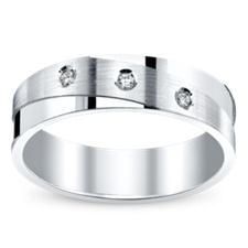 Robbins Brothers Men`s Wedding Rings