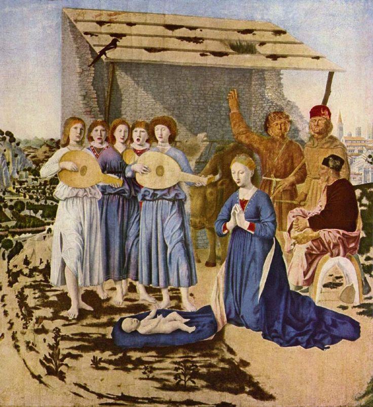 Рождество, ок.1470  Нац. галерея. Лондон.