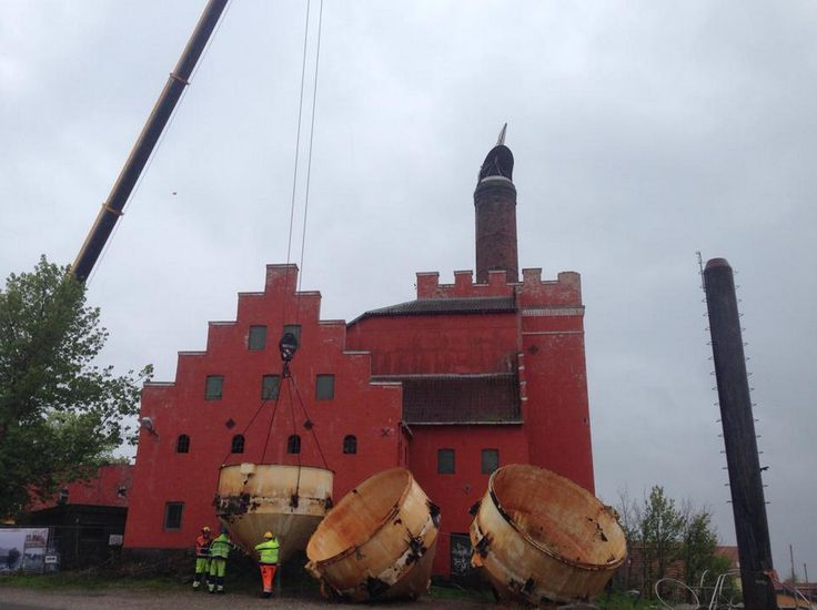 The old maltfactory - Ebeltoft (from: https://www.facebook.com/pages/NYMALT/202921849775885?sk=photos_stream)