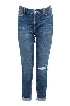 TOPSHOP MATERNITY Rip Lucas Jeans
