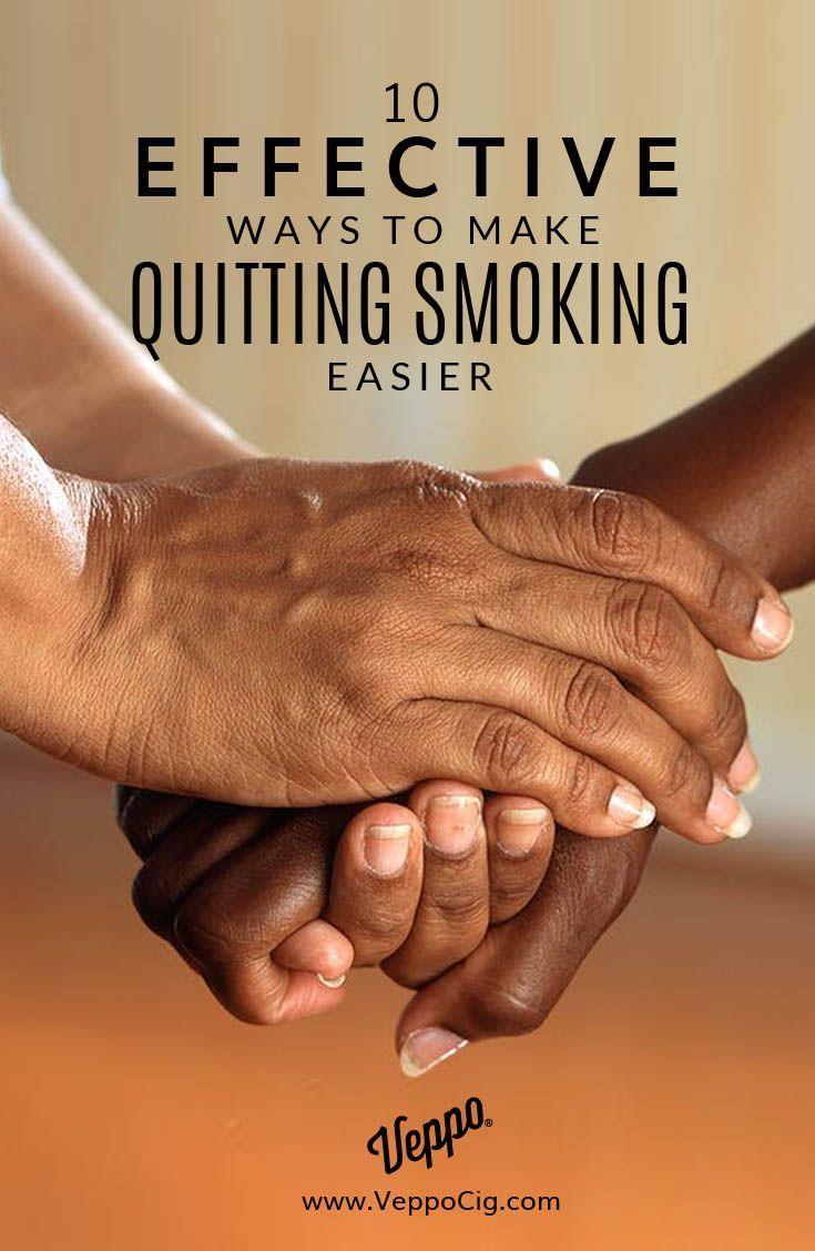 10 effective ways to make quitting smoking easier   veppo vaping
