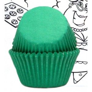 Goldas Kitchen Baking Cups - Solid - Green - Standard Golda's Kitchen
