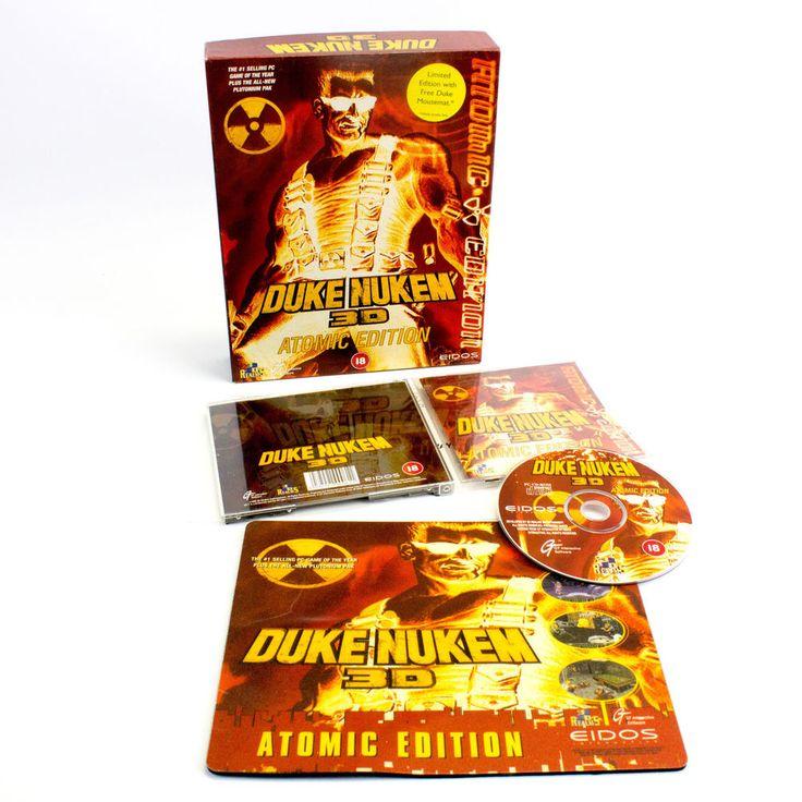 Duke Nukem 3D Atomic Edition + Plutonium Pak + Extra's for PC by 3D Realms, 1996