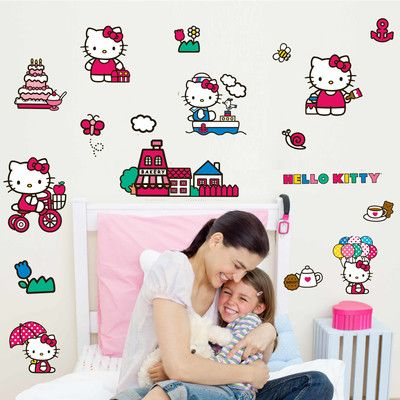 Wallhogs Hello Kitty Wall Decal