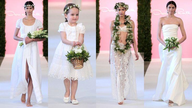 Oscar de la Renta colección novias primavera – verano 2015