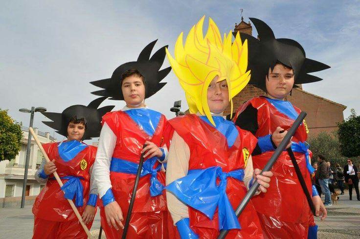 Disfraz de Goku