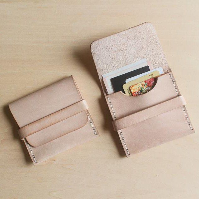 Simple and pretty. Fancy - Beige Flap Wallet by Dftclws