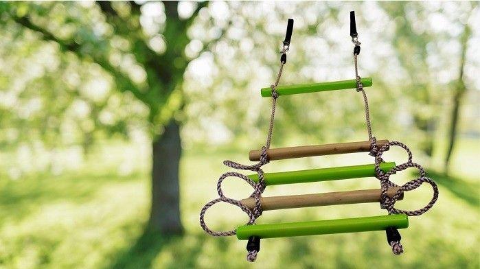 Twigz - Climbing Wooden Rope Ladder Boys would love climbing tree in backyard #EntropyWishList #PinToWin