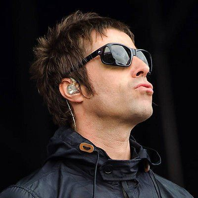 Iconic Persol Ratti 003 sunglasses with side shields. Worn By Liam Gallagher from the band Oasis .