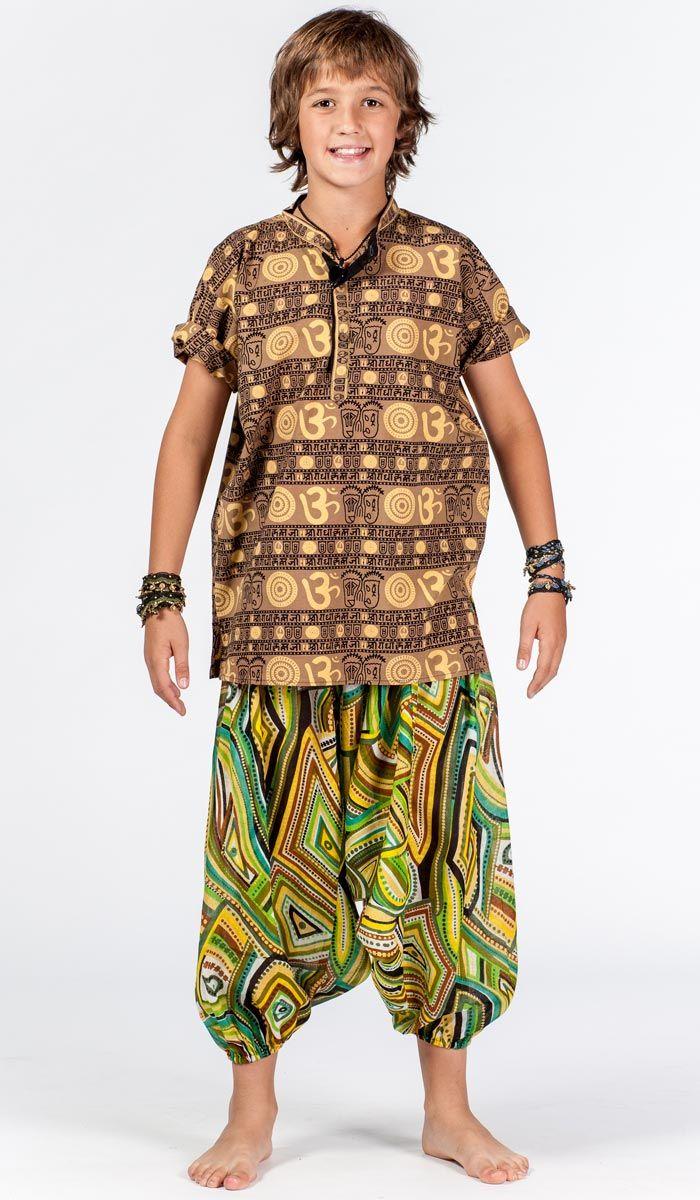 Детские шаровары для мальчика, алладины детские, индийская детская одежда. Boy`s alladin pants, yoga pants for kid. 1020 рублей http://indiastyle.ru/products/sharovary-ledentsy