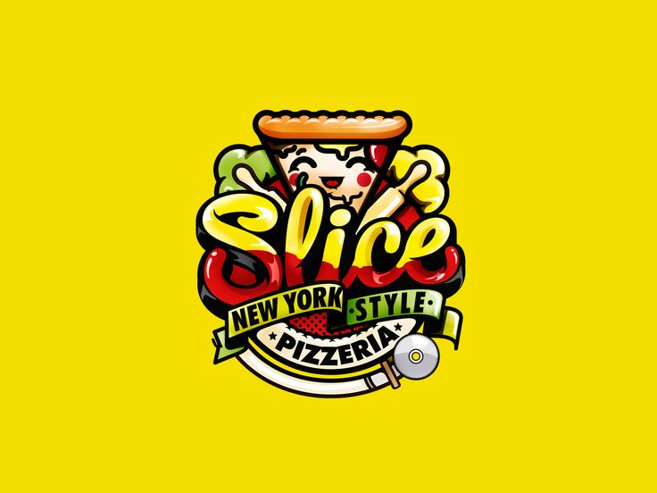 """Check out this @Behance project: """"Brand slice pizzeria korea"""" https://www.behance.net/gallery/37738297/Brand-slice-pizzeria-korea"""