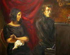 Eugène Delacroix: George Sand e Fryderyk Chopin