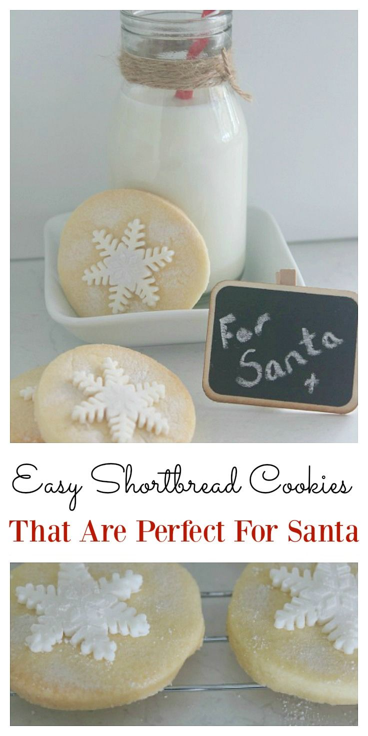 These shortbread cookies are the perfect recipe to bake for Christmas eve. They are super easy to make and the whole family will enjoy them.  Even Santa might appreciate one or two! They simply melt in your mouth and they are by far the best recipe.