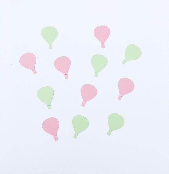 Aerostati di aria calda | Hot Air Balloon coriandoli | Hot Air Balloon decorazione | Hot Air Balloon Decor | Festa dell