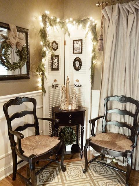160 best images about shutter decor on pinterest shutter shelf mantels and diy craft projects. Black Bedroom Furniture Sets. Home Design Ideas