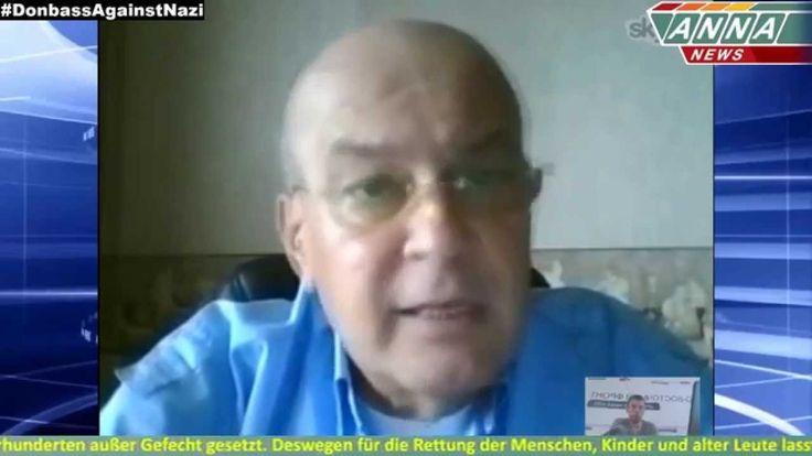 Die Junta wird chemische Waffen gegen Donbas anwenden. Alexander Zhilin.