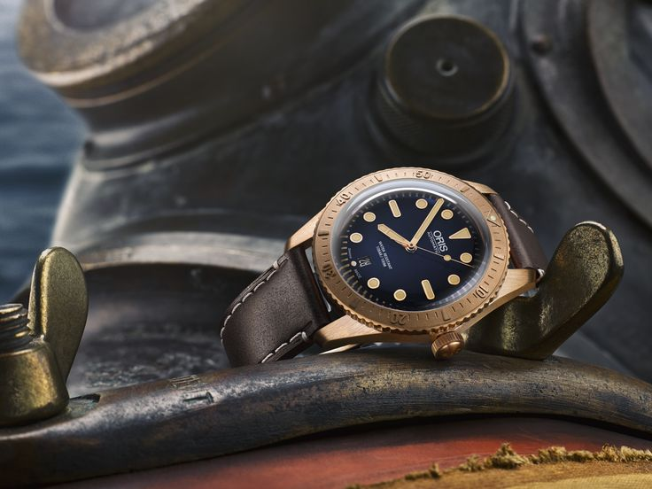 Oris is extremely proud to remember the life of a man who conquered adversity to fulfil his ambitions. The Oris Carl Brashear Limited Edition honours the memory of the U.S. Navy's first African-American diver and first amputee diver, Carl Brashear. Oris Carl Brashear Limited Edition, Swiss Retail Price CHF2,700. Ref. No. 733 7720 3185 LS, Ø 42.00mm. Limited to 2,000 pieces
