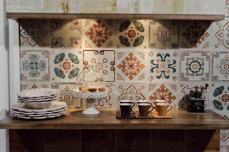 Фартук из плитки для кухни: подборка коллекций
