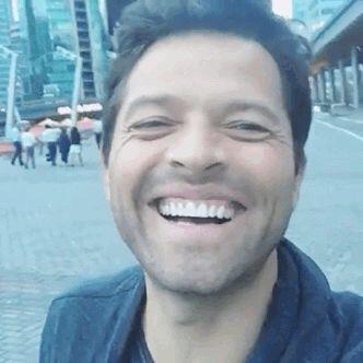 Misha Collins pure sunshine