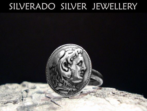 Alexander The Great Ancient Greek Coin by SilveradoJewellery, €23.00