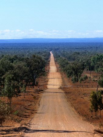 Dirt Road in Outback, Cape York Peninsula, Australia