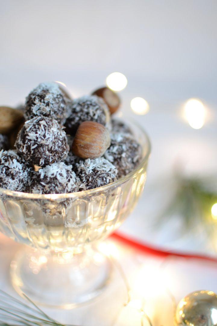 Vegane Süßigkeiten: Rezept für weihnachtliche Energy Bites