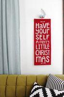 DIY Felt Holiday Banner - A Beautiful Mess