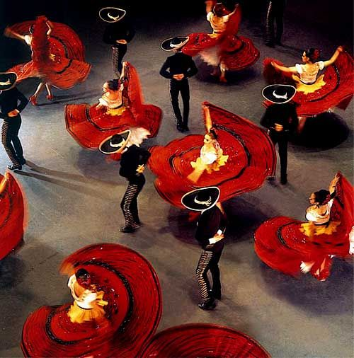 Ballet Folklorico de Mexico. Been to see this in Mexico City and its amazing and beautiful!