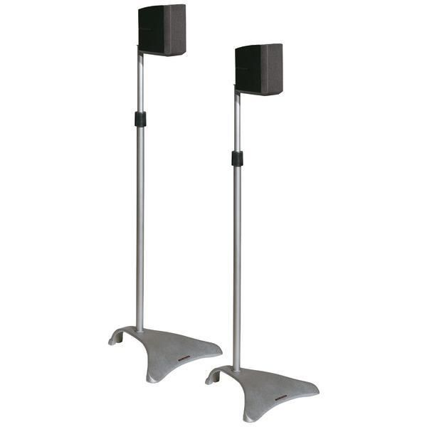 Atlantic(R) SPSCUR47 Satellite Speaker Stands, 2 pk