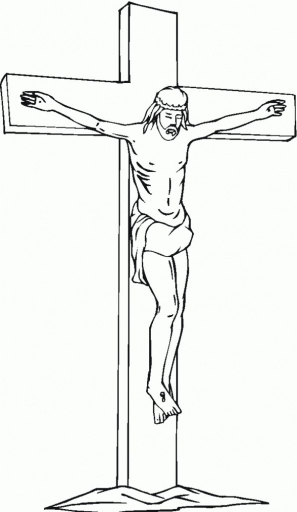Cross Coloring Pages Images #kidswoodcrafts | Cross ...