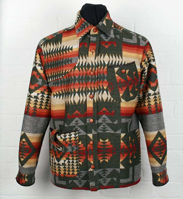 Ranger Overshirt- Navajo ( design, not made )