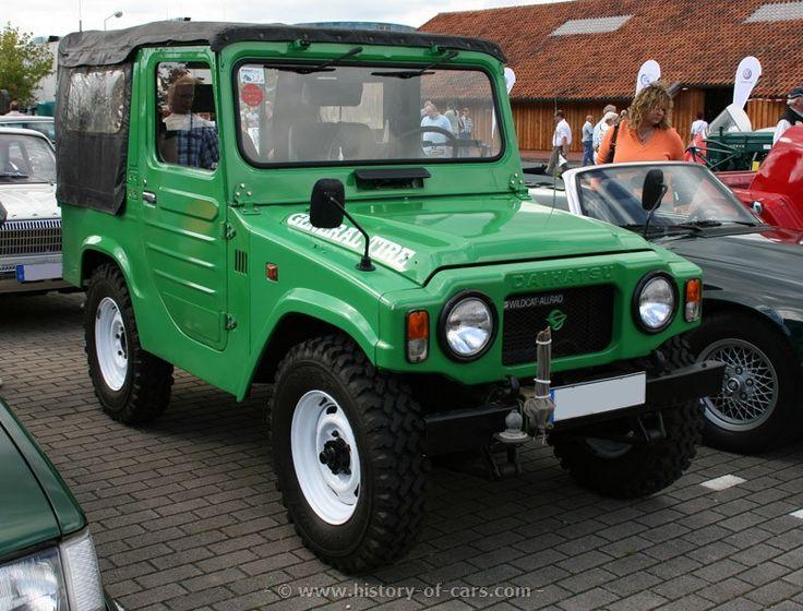 1974 Daihatsu taft wildcat. I want this!!!
