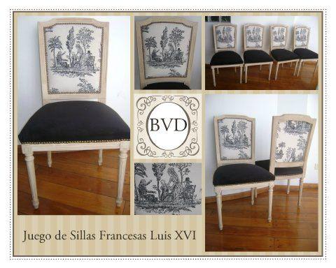 Las 25 mejores ideas sobre sillas francesas en pinterest for Juego de dormitorio luis xvi