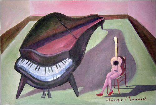 Diego Manuel Rodriguez - piano y guitarra