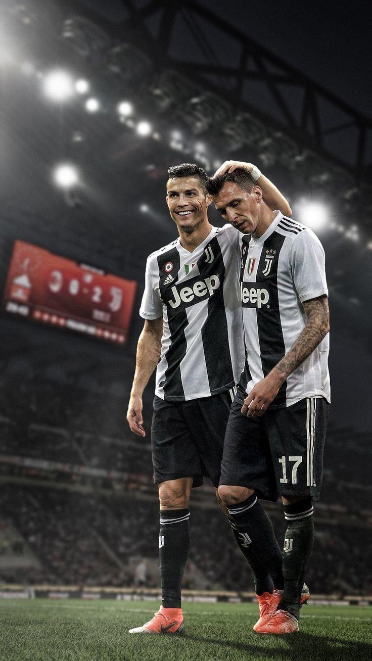 4f492a10da3ba Cristiano Ronaldo and Mandzukic
