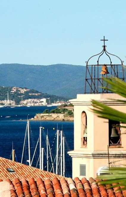 Ste. Maxime, vue du clocher sur la mer... #Var #France #SainteMaxime #Golfesttropez #iamsaintemxime #tourismepaca
