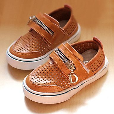 Children'S Ventilate With Zipper Loafers