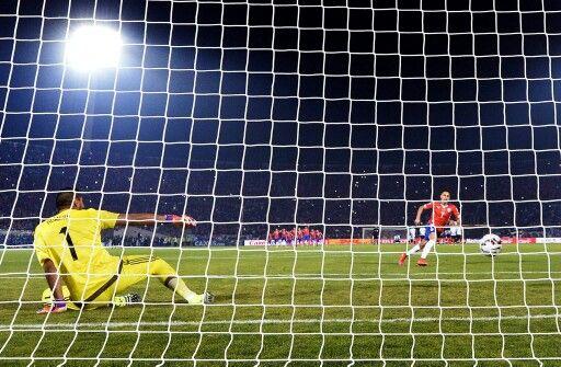 Penal definitorio / Chile Vs. Argentina