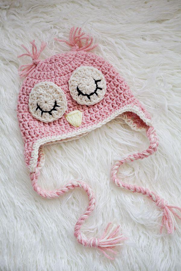 Mejores 36 imágenes de owl hats en Pinterest | Sombrero del búho de ...